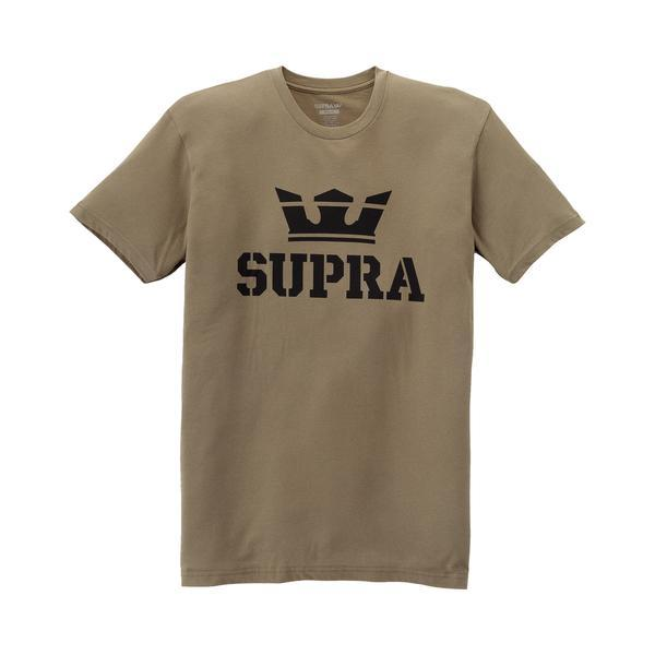 SUPRA Above Regular T-Shirt olive/black