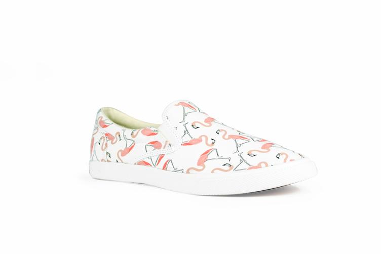 Flamingos white/pink