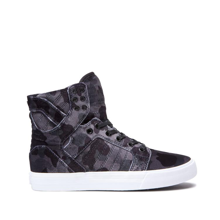 SUPRA Skytop Women black-camo/white