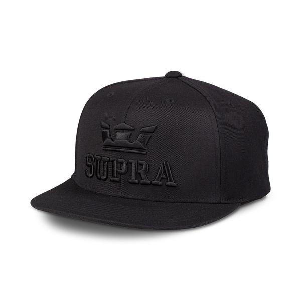 SUPRA Above II Snap Back Cap black
