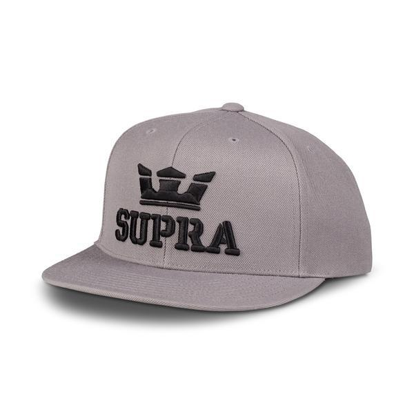 SUPRA Above II Snap Back Cap charcoal