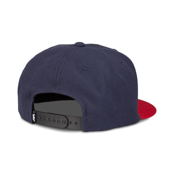 SUPRA Above II Snap Back Cap navy/red - 0