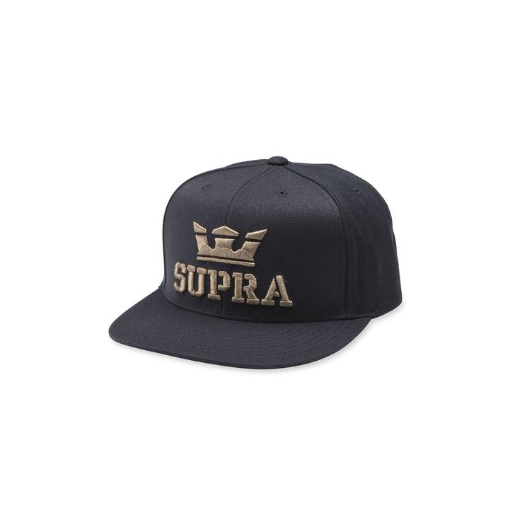 SUPRA Above Snap Back Cap black/dk-olive