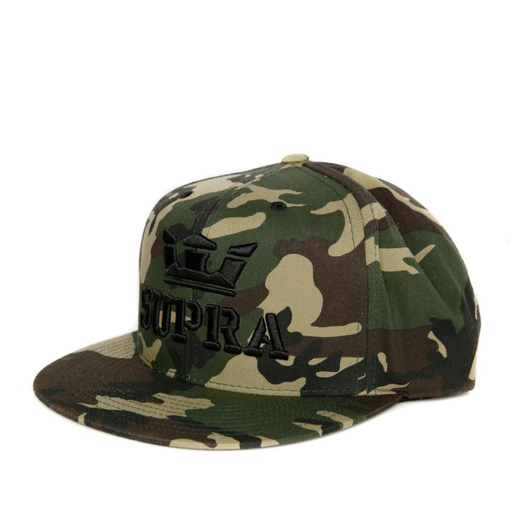 SUPRA Above Snap Back Cap camo