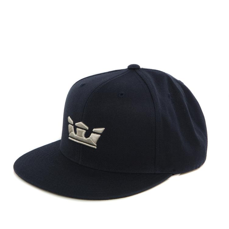 SUPRA Icon Snap Back Cap black/tan